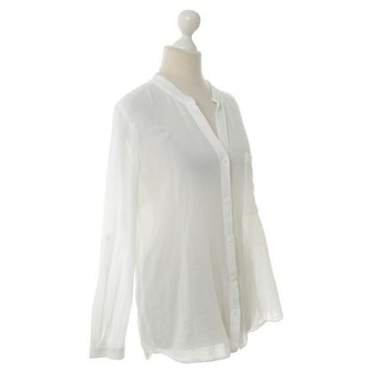 Diane von Furstenberg Katoenen blouse wit