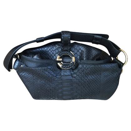 Gucci Handbag made of python leather