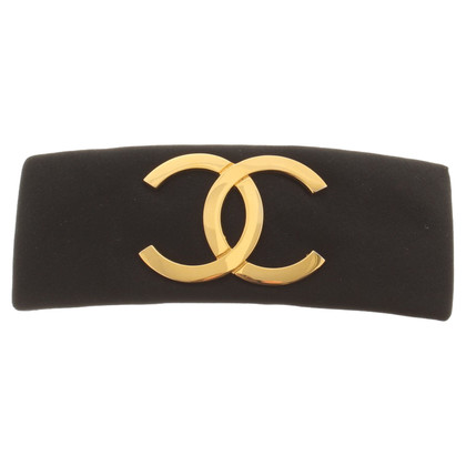 Chanel Haarspange mit Logo-Applikation