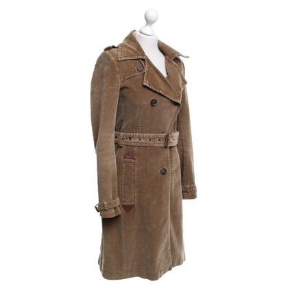 Drykorn Trenchcoat made of cord