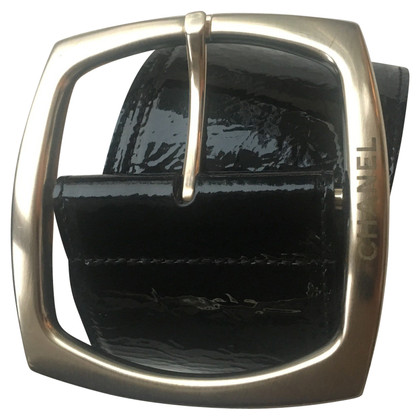 Chanel Chanel patent leather belt