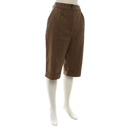 Dries van Noten Pantaloncini a Brown