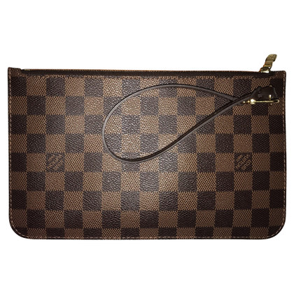 Louis Vuitton Pochette aus Damier Ebene Canvas