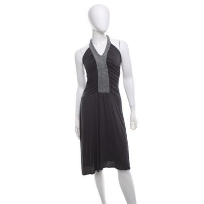 Ella Moss Halter Dress in grey