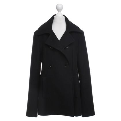 Patrizia Pepe Korte jas in zwart