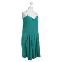 Stella McCartney Silk dress in green