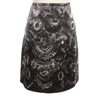 Prada Zijden rok met patroon