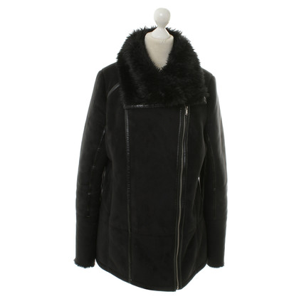 Patrizia Pepe Jacket with faux fur