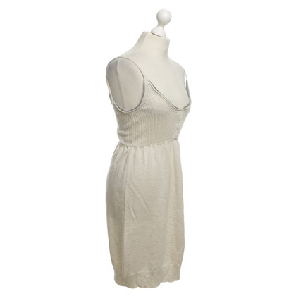 James Perse Knit dress in cream white