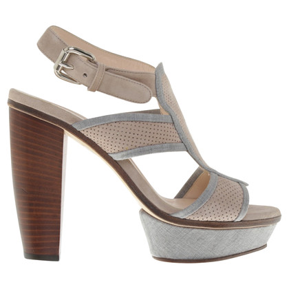 Fabiana Filippi Sandals of suede