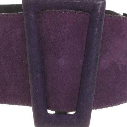 Marc Cain Waist belt in purple