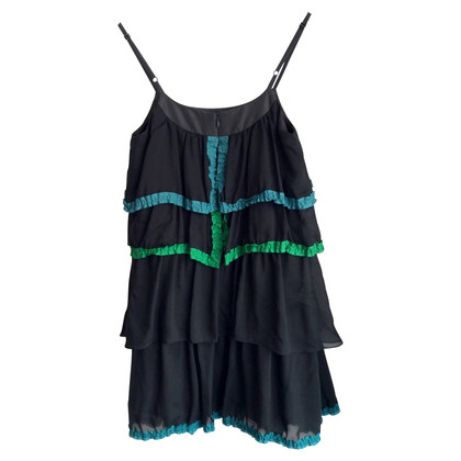 Marc by Marc Jacobs Silk dress with flounces