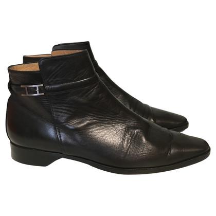 Hermès Boots in zwart