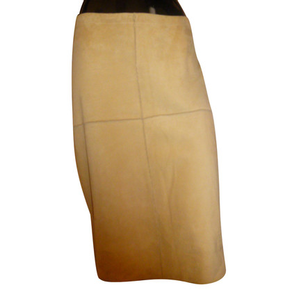 Patrizia Pepe Leather Pencil Skirt