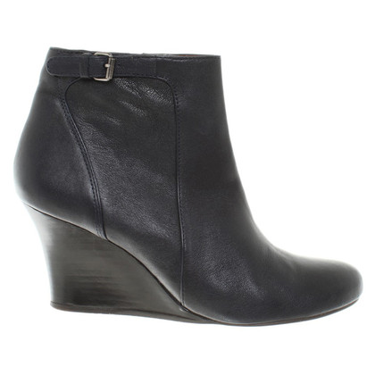 Lanvin Lederwedges in Schwarz