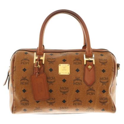 MCM Handbag in cognac