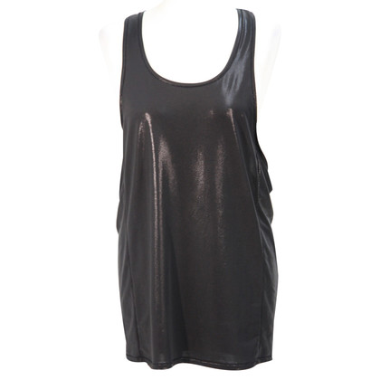 All Saints top in black