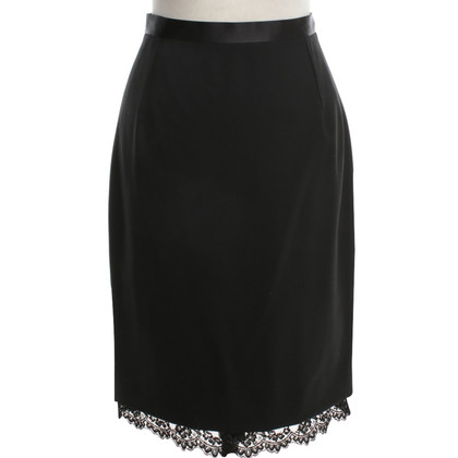 Dolce & Gabbana skirt in black with lace