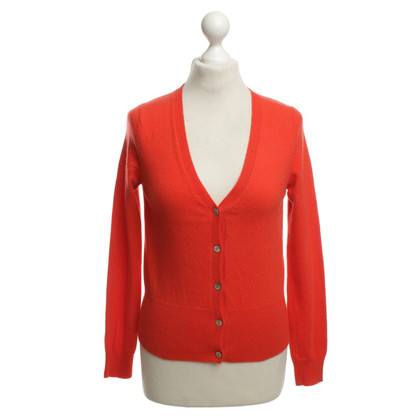 FTC Kaschmir-Strickjacke in Rot