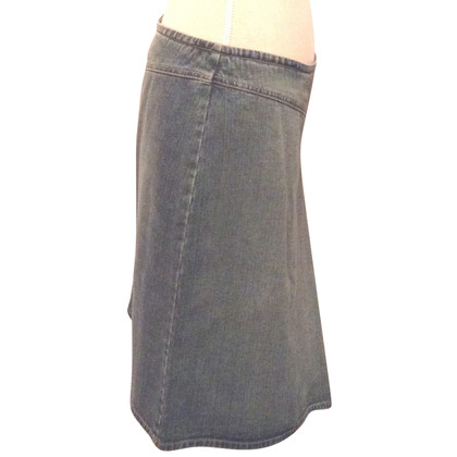 Armani Denim skirt with side slit