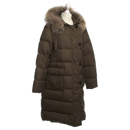 Moncler Down coat in khaki