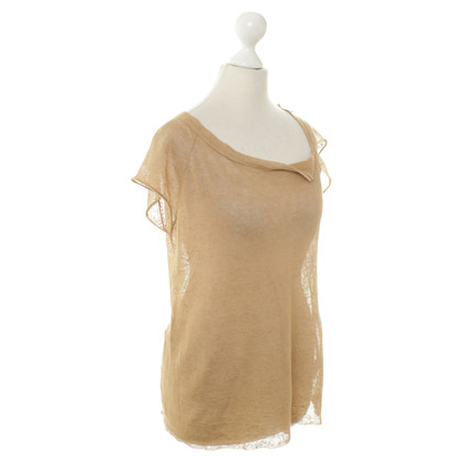 Zadig & Voltaire top in light brown