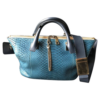 "Chloé ""Baylee Bag"" made of python leather"