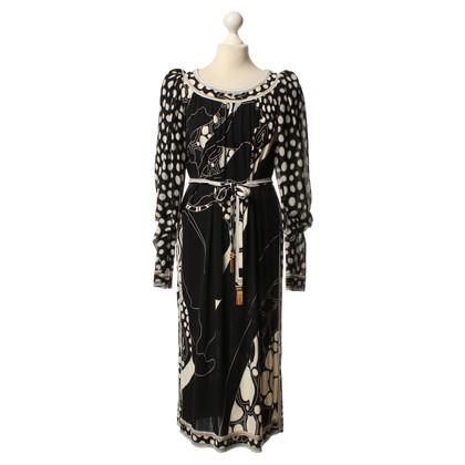 Leonard zijden jurk patroon