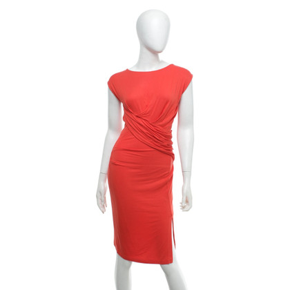 French Connection Dress in orange-red