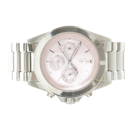 Juicy Couture Silver-colored wristwatch with logo