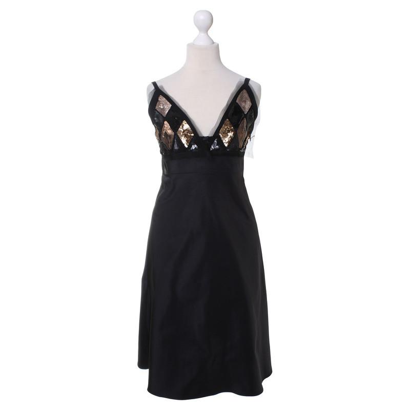 Jil Sander Pinafore dress with sequin trim