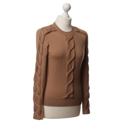 Karen Millen Pullover mit Zopf-Muster
