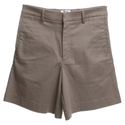 Acne Shorts in Ocker