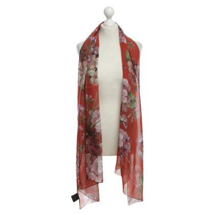 Gucci Floral silk Cape
