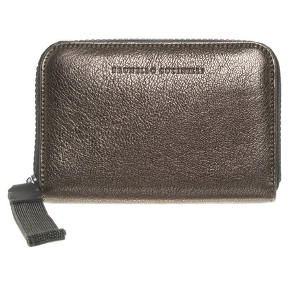 Brunello Cucinelli Wallet metallic