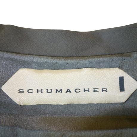 Schumacher Seidenweste Stickereien mit Stickereien Grau Perlen Seidenweste mit Schumacher Perlen Schumacher Seidenweste Grau Perlen mit Stickereien rrFnqxA
