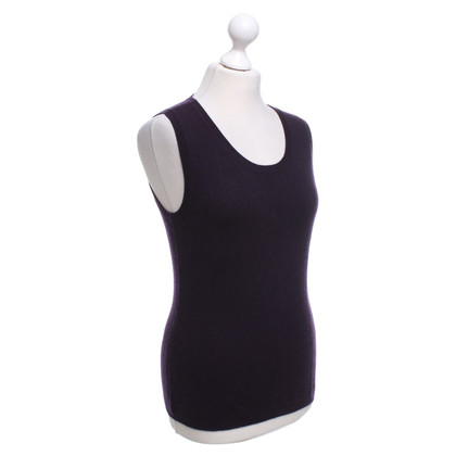 FTC Eggplant-colored tank top