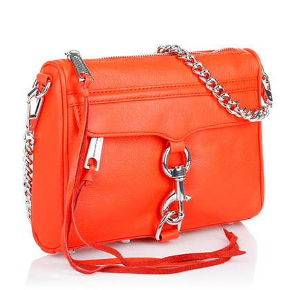 "Rebecca Minkoff ""Mini Mac Hot Orange"" Tasche"