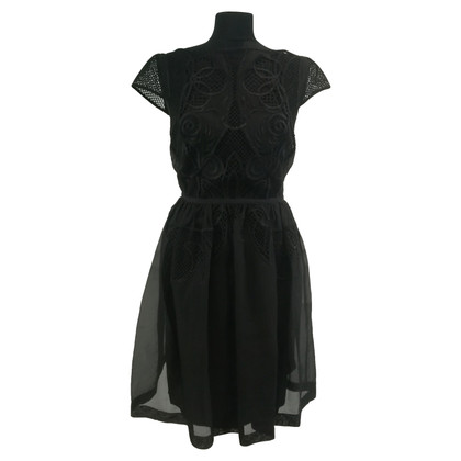 Temperley London Robe noire Maxime