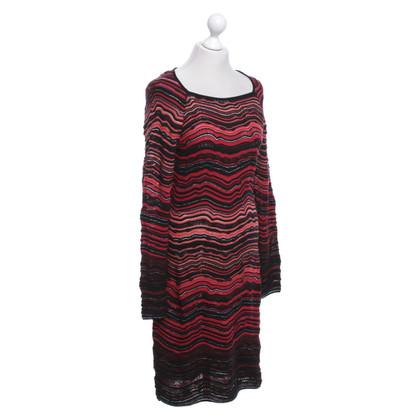 Missoni Dress in red / orange / black