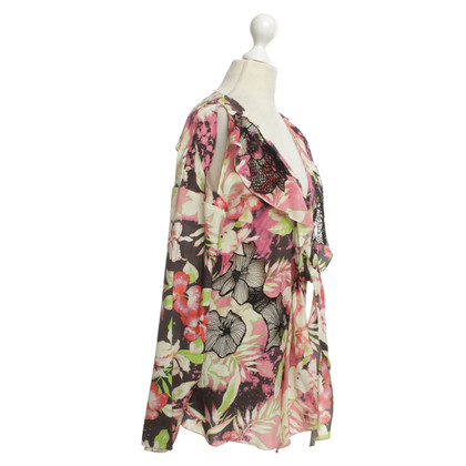 Vanessa Bruno camicetta di seta con motivi floreali