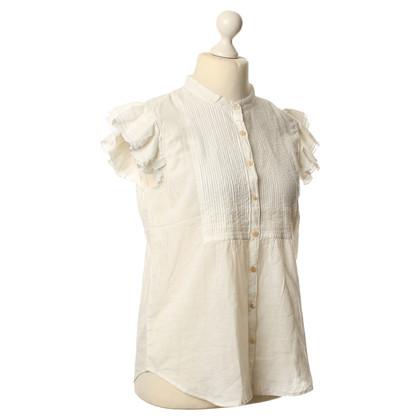 Polo Ralph Lauren Kurzarm-Bluse mit Rüschen