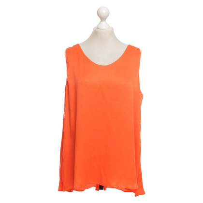 René Lezard Top in arancione neon