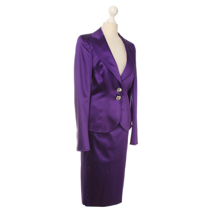 Escada Kostüm in Violett