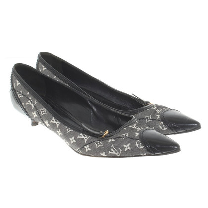 Louis Vuitton pumps in Monogram Mini Gris