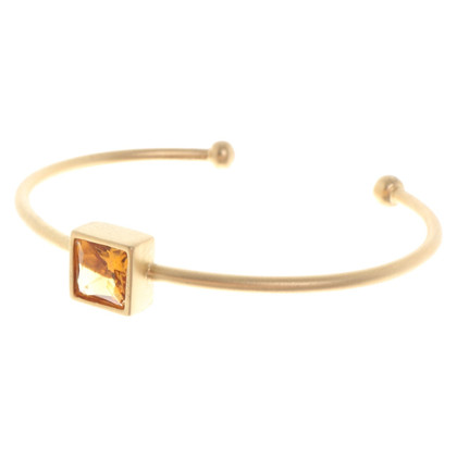 "Bliss Gold-colored bangle ""Sahara"""