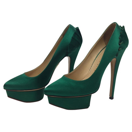 Charlotte Olympia pumps with platform sole