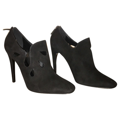 Bottega Veneta Schwarze Wildleder Pumps