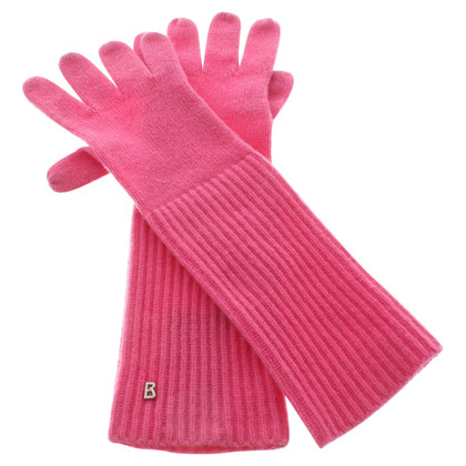 Bogner Gloves in pink