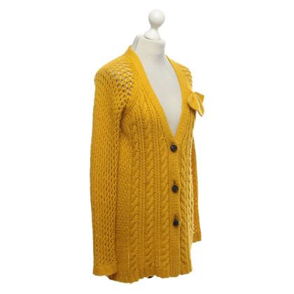 Twin-Set Simona Barbieri Cardigan in yellow